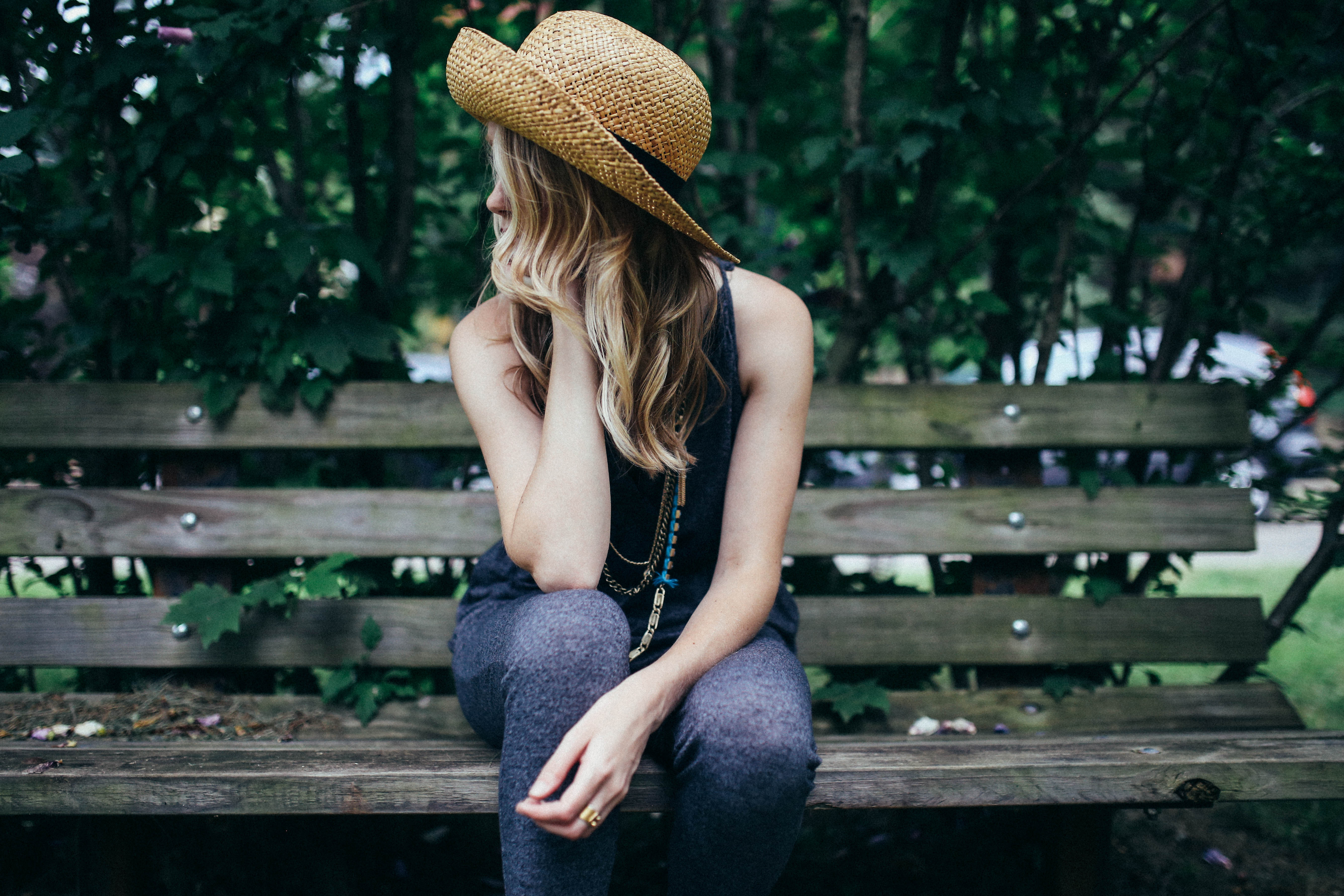 woman on park bench thinking, micro-targeting, new audiences, reaching out to new audiences, expanding audience, marketing trends 2015, garden media group, business trends