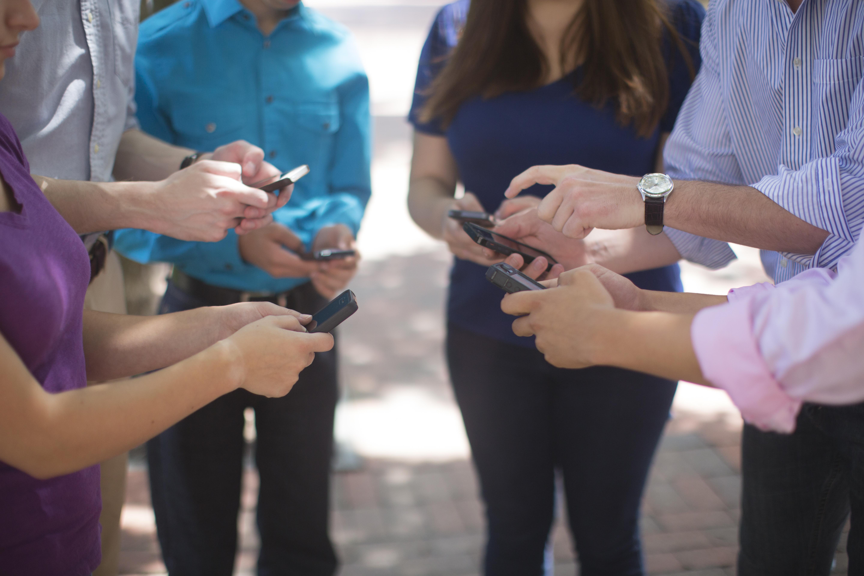 social media, sharing, online image