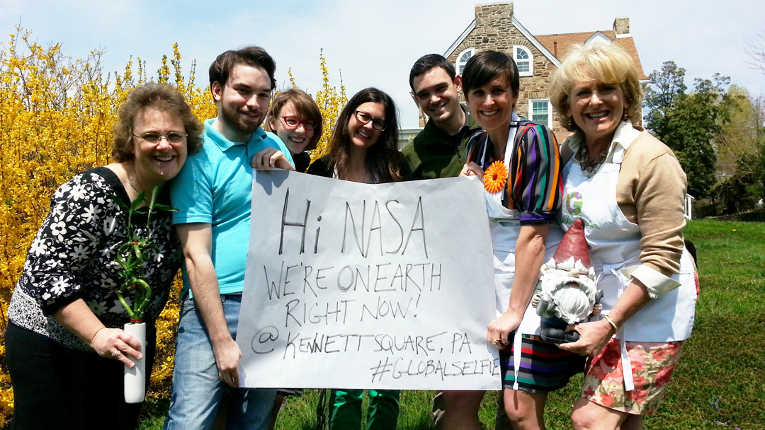 garden media group, earth day 2014, #globalselfie, let others tell your story, interaction, interacting with brands,