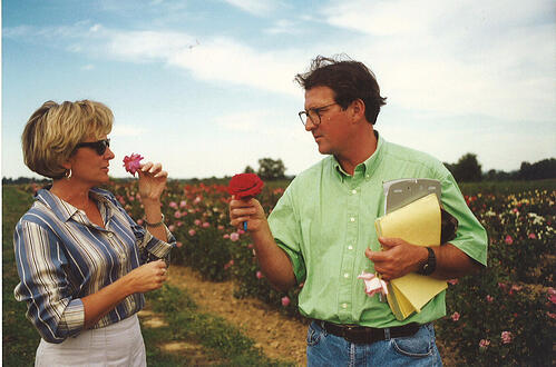 attracting new audiences, smelling a flower, garden media group, public relations, content marketing, re-purposing content