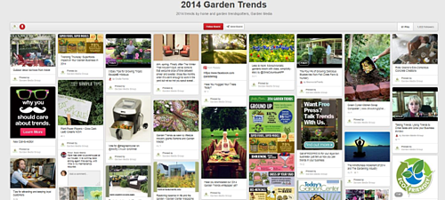 Pinterest Trends, Gardening Trends Pinterest, Garden Media Group Pinterest