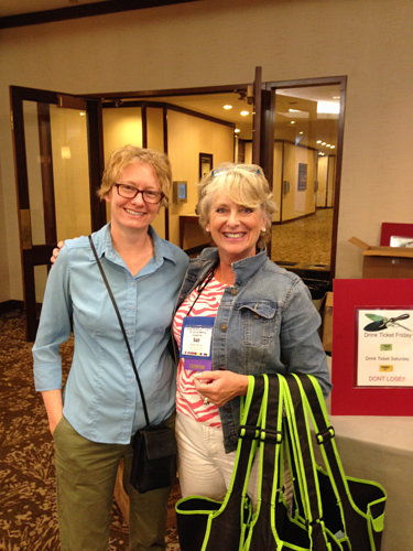 Garden writers, GWA, connections, networking at conferences