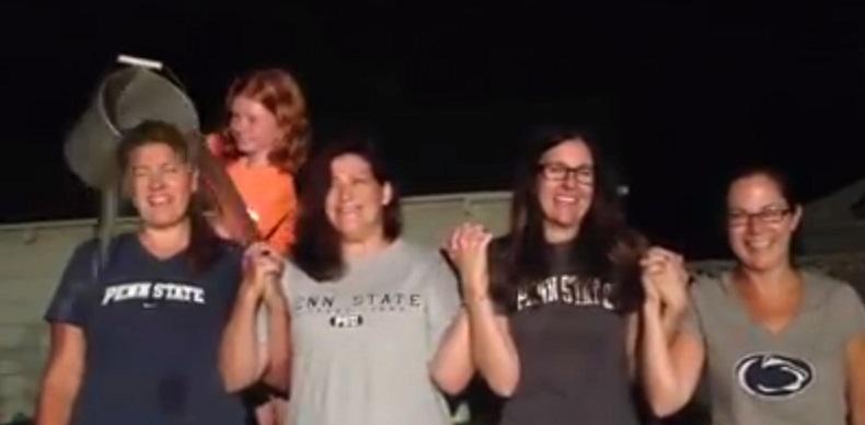 Stacey of Garden Media ASL Ice bucket