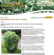 garden PR for trade show