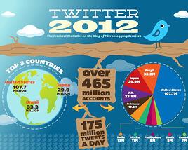 social media infographics twitter 2012