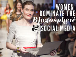 women dominate social web