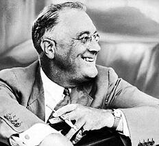 Franklin D. Roosevelt public relations lessons from past presidents