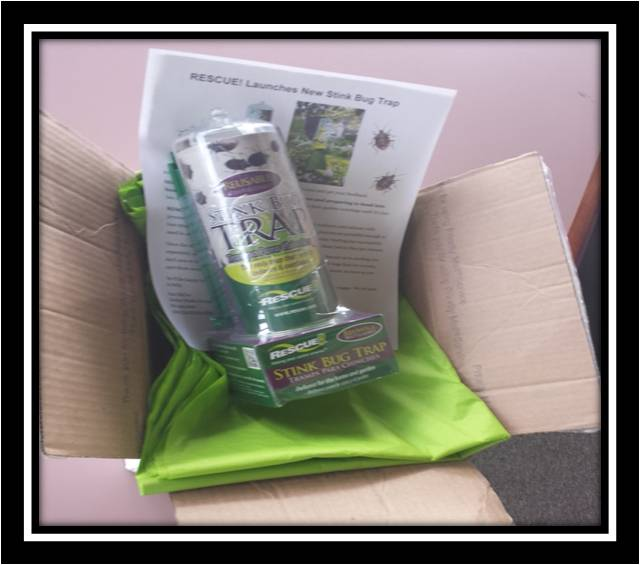 RESCUE stink bug trap, sample program for key influencers, sample program public relations, launching a product people will ask for by name, garden media group case study
