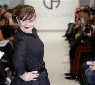 Garden Media Group, Jamie Brewer, Fashion Week