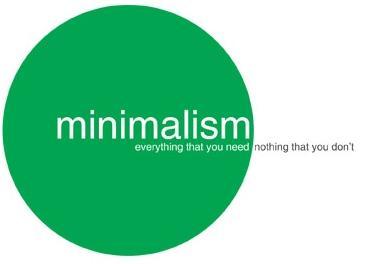 minimalism in content marketing, pr strategy,
