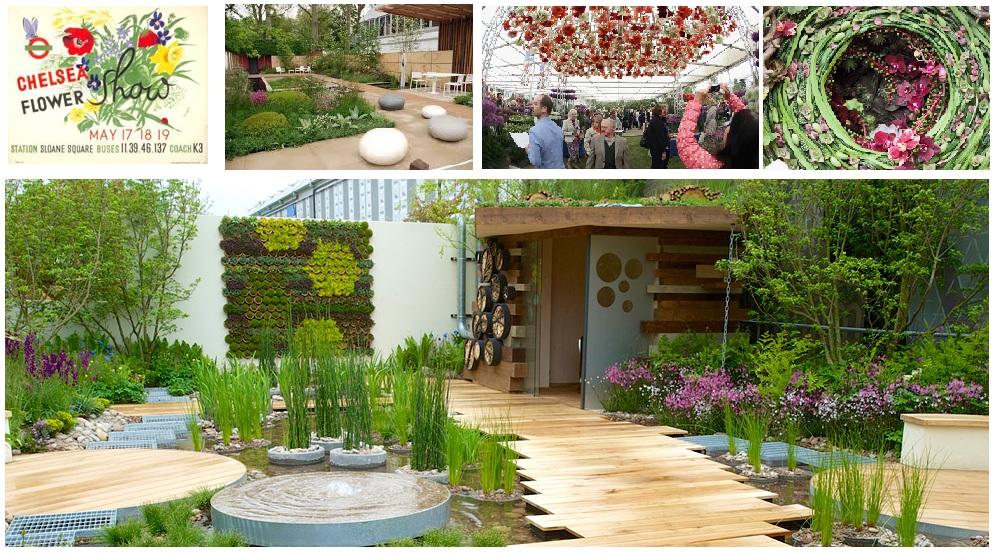 chelsea flower show, garden trends 2014