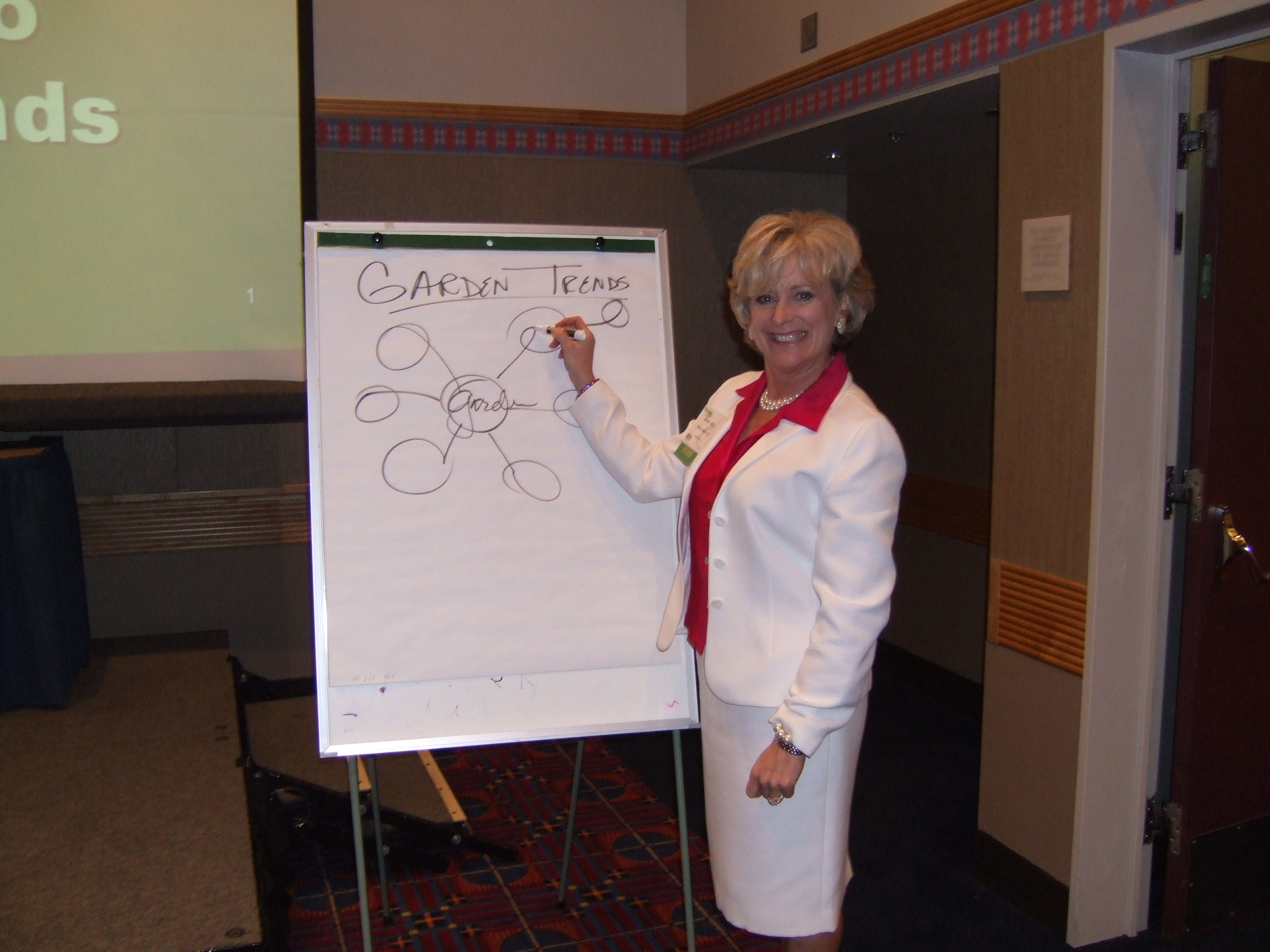 tell your story in a new way, telling stories, garden media group, meeting, presentation,