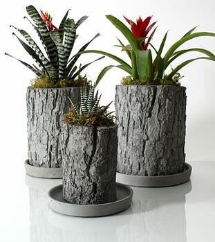 NativeCast decorative planters