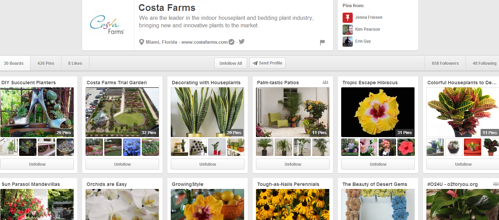 Costa Farms on Pinterest